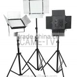 CAME-TV DOF 3x1296 LED 5600K Daylight HVR-1296D Panel Lighting Kit for Camera Video