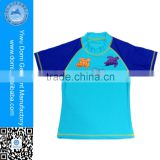 Boys & Girls Kid's Custom Printed Rash Guard From Yiwu Domi