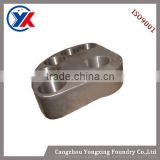China Gold Suppiler Grey Iron Cast & Nodular Iron Cast centering block casting vibration machine parts exciter parts