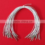 white elastic cord with barb for tag