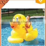fine quality and cute,water toys, selling well over the world pvc inflatable yellow duck