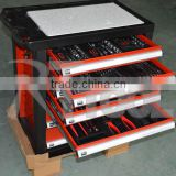 2015 ruiteng high quality tool trolley with 220pcs tools swiss kraft professional 220pcs tools 186 tool set