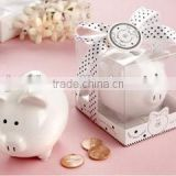 mini ceramic piggy bank baby shower small gift items