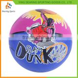 Newest sale trendy style leather basketball ball with good prices