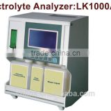 professioal factory supply clinical lab devices link best Medical equipments popular LK1000A automated electrolyte analyzer