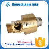 quick coupling copper pipe fitting water rotary joint