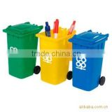 Funny Pen Container Plastic Recycle Bin used Indoor