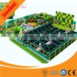 CE Approved Children Best Entertainment Fitness Play Structure, China Indoor Trampoline Park