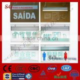 safety exit lighting indicator lamp silkscreen engrave exit lights illuminated exit signs emergency sign board
