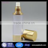 Plastic Cosmetic Airless Spray Atomizer Bottle Packaging ,Plastic Pump Cream Airless 15ml 30ml 50ml 100ml 200ml Perfume Bottles