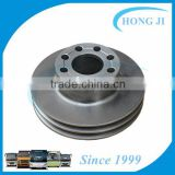 612600020515 crankshaft pulley bolt bus crank pulley for Toyota Higer