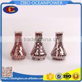Electroplating carving glass piece cover glass shisha mosaic