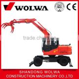 sugar crane wheel loader mounted on excavator for sale