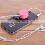 promotional candy colors earphone cord winder