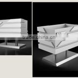 Foam PVC Flower Box Planter for Road and Street Decorate, flower box Foam PVC planter boxes