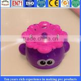 Water Spray Vinyl toys for kids, oem funtional pvc bath toys, custom plastic lovely shower toys