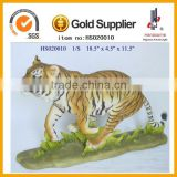 Tiger resin animal Custom life size resin animals garden ornament