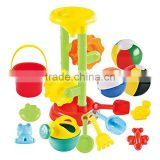 Hot Wholesale Beach Toy Set Garden Plastic Kids Watering Can for kids