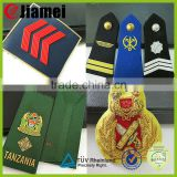 Factory custom army epaulette merchant navy military uniform shoulder boards