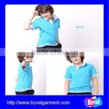 boys fashion casual polo shirt wholesale high quality cotton plain kids polo shirt for children