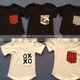 hot sale very cheap shirt Cotton Caters Short sleeve t-shirt Baby Boy Clothes YW-00326