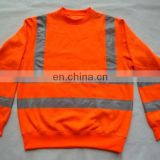 reflevtive safety vest(Standard:ENISO 20471, ANSI/ISEA 107-2010, CAN/CSA-Z96-02, AS/NZS 1906.4-1997)