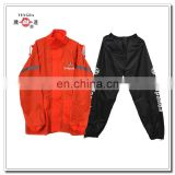 motorcycle fast food take away nylon raincoat for delivery guy