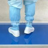 Blue Disposable PE Clean room Floor Antistatic Cleanroom Sticky Mat