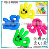 Party Toys Promotional Gift Plastic Palm Whistle For Kids
