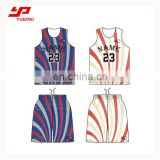 High quality sublimation custom basketball jersey uniform design color yellow