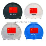 Silicone Swim Cap for Chinese swimmers