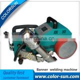 Hot air PVC banner welder