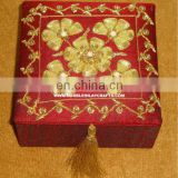 Hand Embroidery Jewellery Boxes