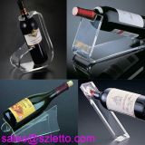 beautiful acrylic wine rack with LED