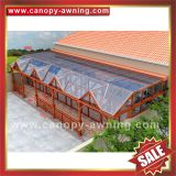 super durable prefab outdoor metal aluminum aluminium sunroom,sun house,garden house,glass house project for sale