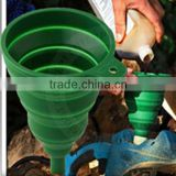HuiZhou Youngsilicone Silicone rubber collapsible funnel