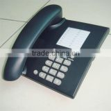 Basic features pulse tone easy dialing rubber button office desk phone