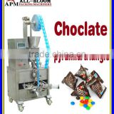 Automatic chocolate/beans/nuts/candy/puffed food pyramid/triangle bag packing machine