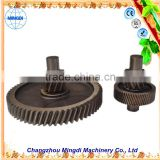 used military heavy equipment Custom Helical bevel Gear / Herringbone Gear Assembly Transmission Parts for reduction gear rc