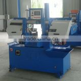 GS260 fully automatic double column band saw machine with auto shuttle table