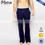 2015 OEM Manufacturer High Quality Skinny Custom Jersey Lounge Sweatpants