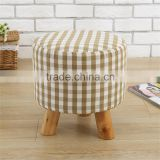Trade assurance Mini cute wooden stools for kids linen chair wholesale ,Trade assurance Mini cute wooden stools for kids linen c