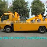 China wrecker tow truck manufacturer, 5 ton DFAC rotator tow trucks on sale in Saudi Arabia