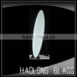 oval shape free standing dressing mirror