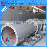 stainless rotary dryer for sand/sand rotary drum dryer/sand dryer with dust removal effect