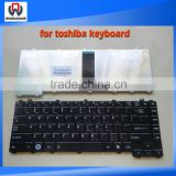 Wholesale keyboard for Toshiba C600d C640 L640 L640d L645 L645d Black laptop keyboard with FR azerty
