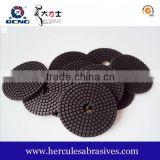 Black soft polishing pad marble and granite polishing, granite and marble polishing hand tools