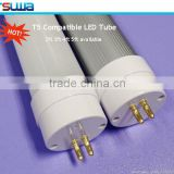 cardboard paper tube packing, internal driver T5 LED TUBE compatible with t5 electronic ballast , 7w 2ft led tube light G5