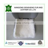 long wool sheepskin baby car seat cushions