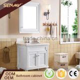 Living Room Furniture Waterproof Modern Solid Wood Bathroom Cabinet                                                                         Quality Choice